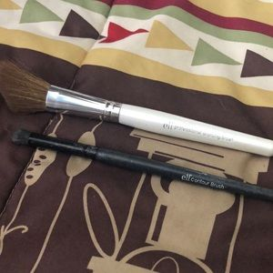 Two elf makeup brushes